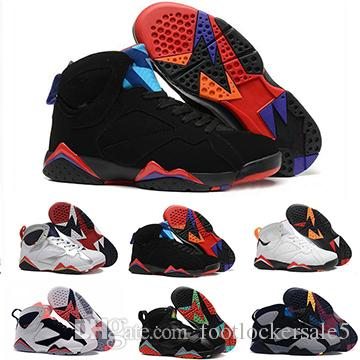 9c5b5a5218e 2019 Classic 7s Men Women Basketball Shoes Unisex Pure Money Hare Bunny  Raptor French Blue Bordeaux Black Red White Blue Sneakers Size 36 47 From  ...
