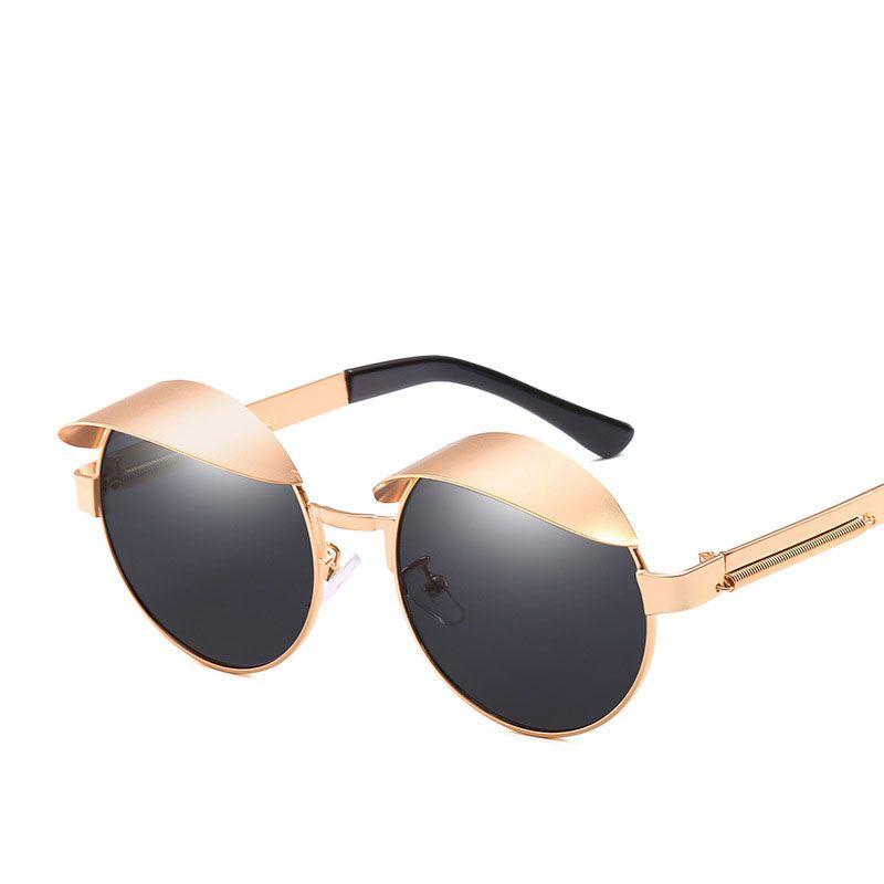 cbecc20f25b 2019 New Round Cap Designer Sunglasses For Men And Women Stylish ...