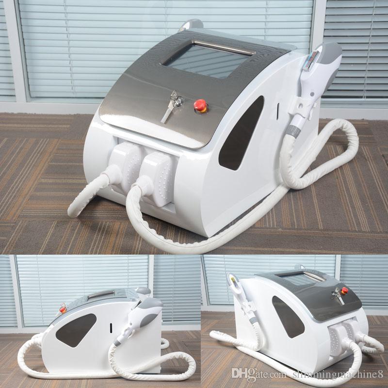 OPT SHR IPL permanent hair removal elight Skin Rejuvenation two handles More than 600,000 shots OPT SHR Beauty Machine