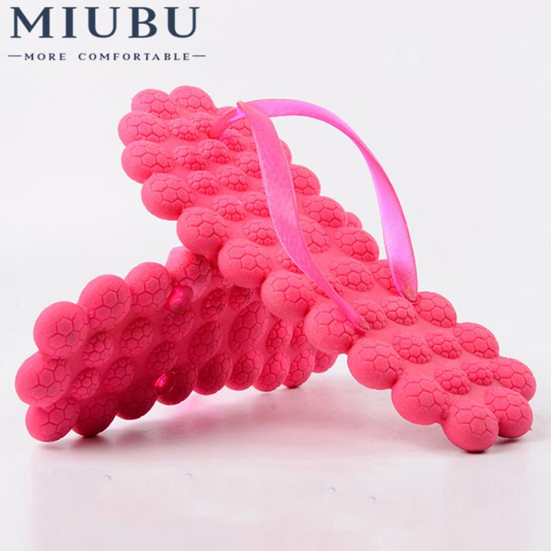 MIUBU New Women Slipper Leisure Massage Candy Color Women Flip Flops Sandals Beach Slippers Shoes T0249
