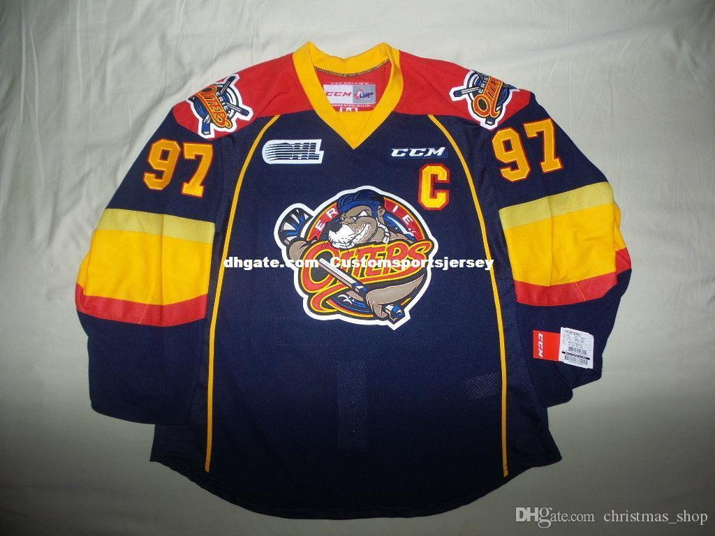 3a94247c921 2019 Cheap Custom CCM Connor McDavid Erie Otters Jersey Edmonton Oilers Mens  Personalized Any Name Number Stitching Jerseys XS 6XL From Christmas_shop,  ...