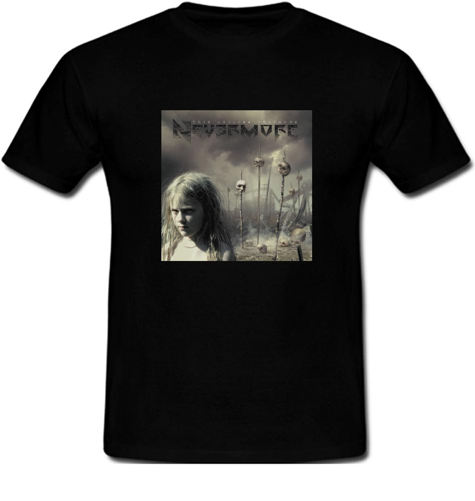a5558735 Nevermore Metal Band This Godless Endeavor T ShirtFunny Unisex Casual Tshirt  T Shirts Best Best Funny Shirts From Gooddonnedmyg, $12.96  DHgate.Com