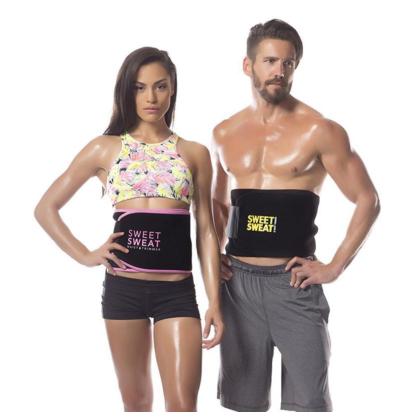 9b7ca251aa1 2019 Sweet Sweat Premium Waist Trimmer For Men Women Waist Trimmer Belt  Fiteness Belts With Retail Box DHL Free From Pandas2018