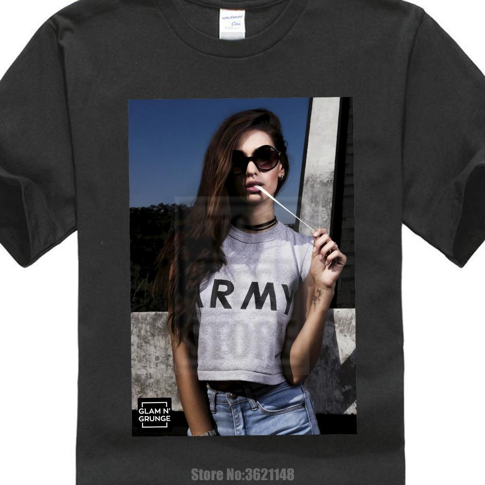 Sexy Girl Model Bubble Gum Hipster Pin Up Hba New Men Summer Tops Casuals Shirts 0427056