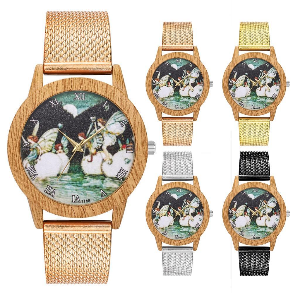ee07bd28b558 Compre Reloj De Pulsera De Cuarzo Para Dama