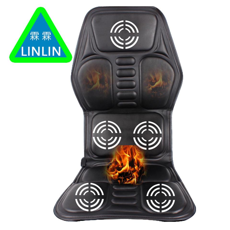 b5a417394 Car Home Office Full Body Massage Cushion.Heat Vibrate Mattress.Back Neck  Massage Chair Relaxation Car Seat 12V Electronic Gizmos And Gadgets Fitness  Health ...
