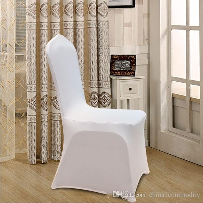 New arrival white Chair covers elastic force Multifunction overall Chair cover for Wedding decoration hotel Banquet restaurant many colors
