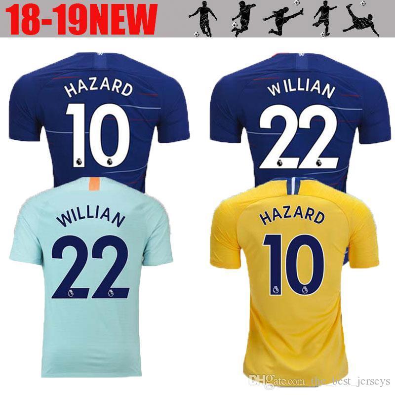 A +++ Camiseta De Fútbol De Tailandia Chelsea PELIGRO 2019 MORATA RUDIGER  GIROUD Camiseta 18 19 KANTE Willian Camiseta 18 19 Camiseta De Fútbol  Camiseta ... 24186b8ff8c08