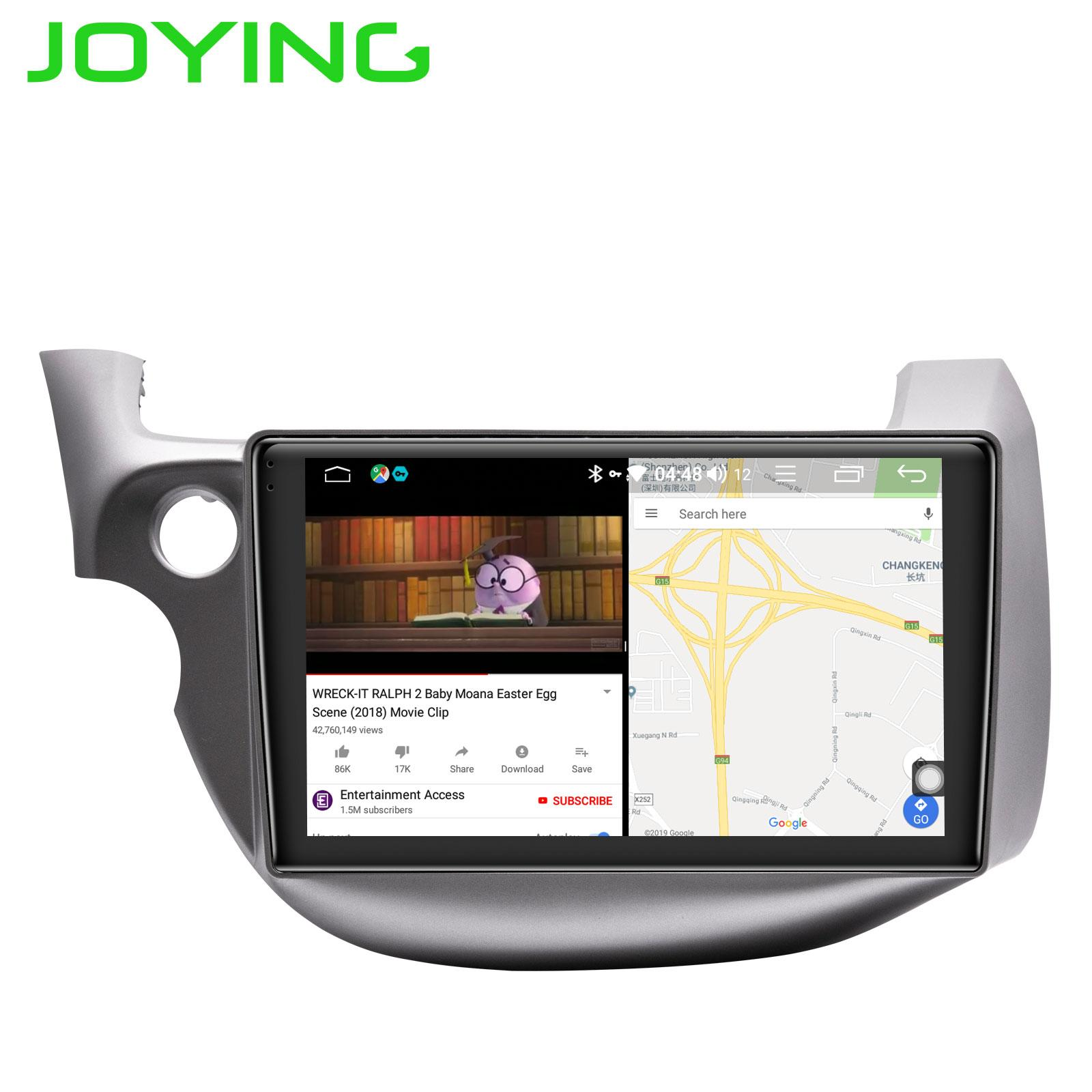 JOYING 1 din car radio Androrid 8 1 Octa Core 10 1 autoradio 4GB 32GB GPS  head unit multimedia for Honda Fit 2008-2013 DSP