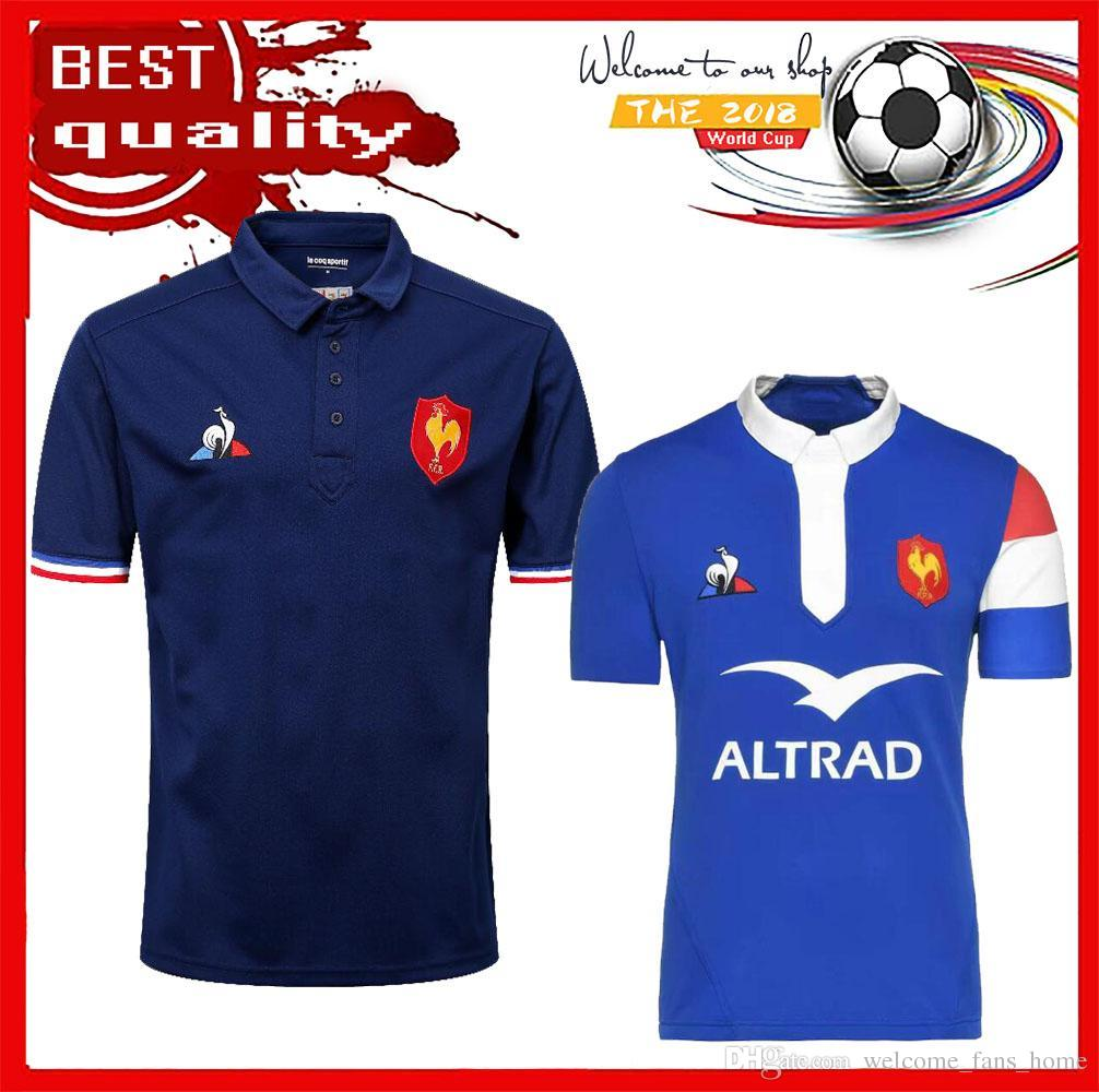 256af7aa6fa New Best Quality 2017 2018 2019 France Super Rugby Jerseys 17 18 19 France  Shirts Rugby Maillot De Foot French BOLN Rugby Shirt Size S-3XL France  Super ...