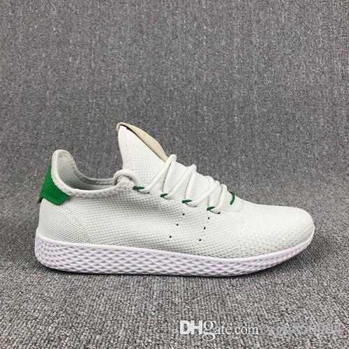 Adidas Tennis HU Unisex Pharrell Williams Tenis HU Clásicos Originales Zapatos para correr Primeknit Superior Zapatos deportivos deporte de calidad