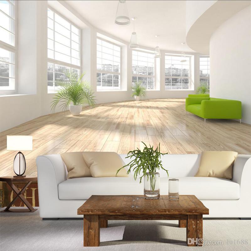 Moderne Tapete 3D Weiß Korridor Erweiterung Raum Wandbild Tapeten für  Wohnzimmer Schlafzimmer Wände 3D Wand Papier Home Decor 3D Wandbilder