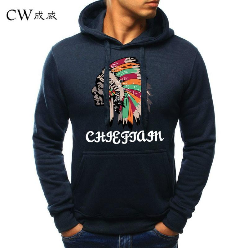 2019 Casual Fashion Men S Hoodie 2019 Indian Style Printing Hooded Casual  Sweatshirt Men S Cotton Polyester Printed Sweatshirt From Insideseam fbcc5b4e0