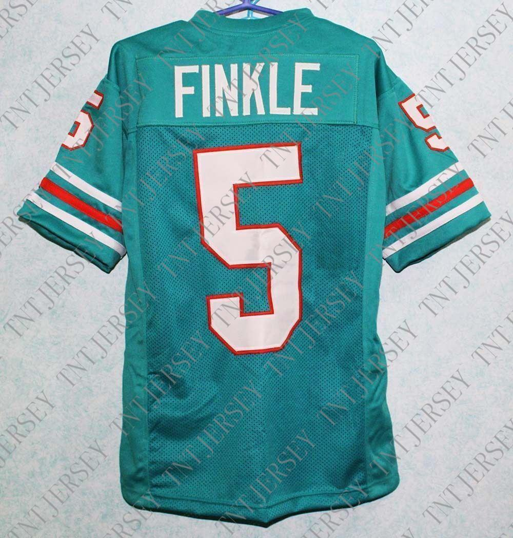 30e237868 2019 Custom Ray Finkle  5 Ace Ventura Movie Miami Football Jersey Teal  Stitched Green S 3XL Customized Any Name Number Stitched Jersey XS 5XL From  ...