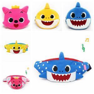 Gepäck & Taschen Kinder Cartoon Leinwand Taille Pack Kinder Fanny Pack Shark Muster Brust Jungen Mädchen Geld Tasche Kinder- & Babytaschen