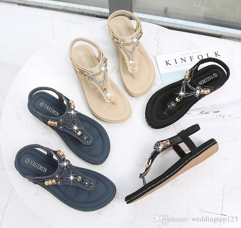 a9b901c62 2019 Hot China Supplier High Quality Flat Women Shoes Summer Sandals White  Sandals Wedge Heels From Weddingtop123
