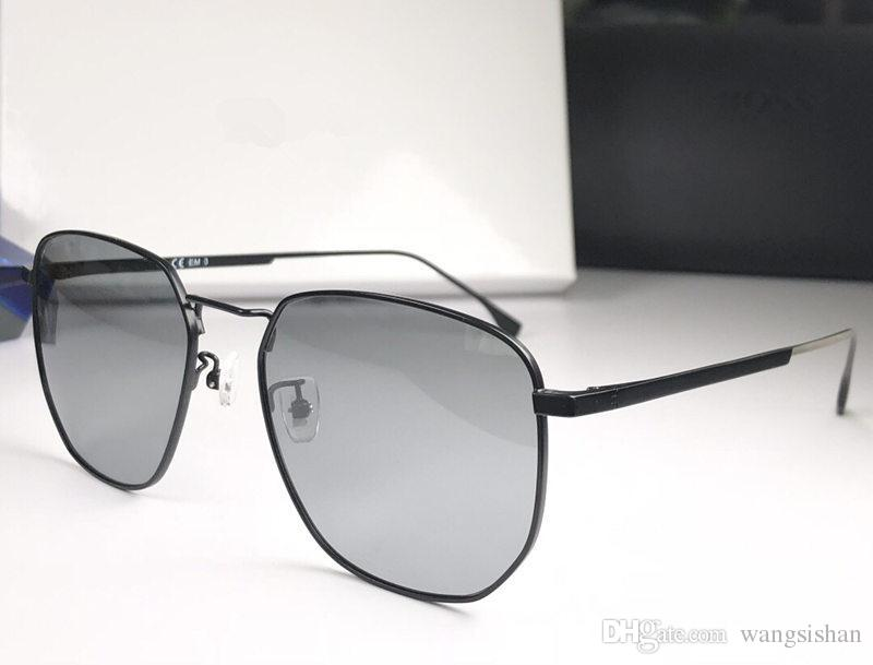 New Fashion Mens Designer Sunglasses 0992 Metal Square Frame Simple Popular Style  Glasses Anti-UV400 Protection Outdoor Eyewear with Case Sunglasses Mens ... fcc06eb5df