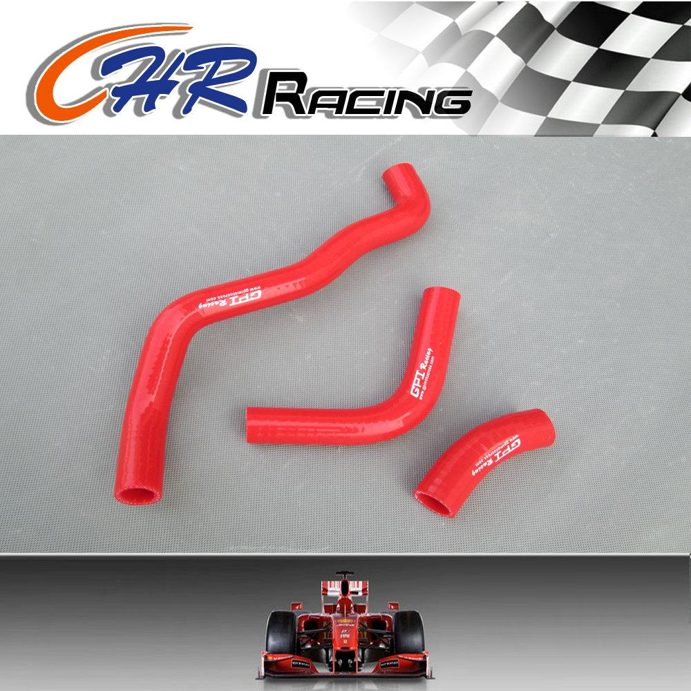 for DRZ400 DRZ 400 SM DRZ400S Silicone Radiator Hose 2002-2012 03 04 05 06 07 08 09 RED