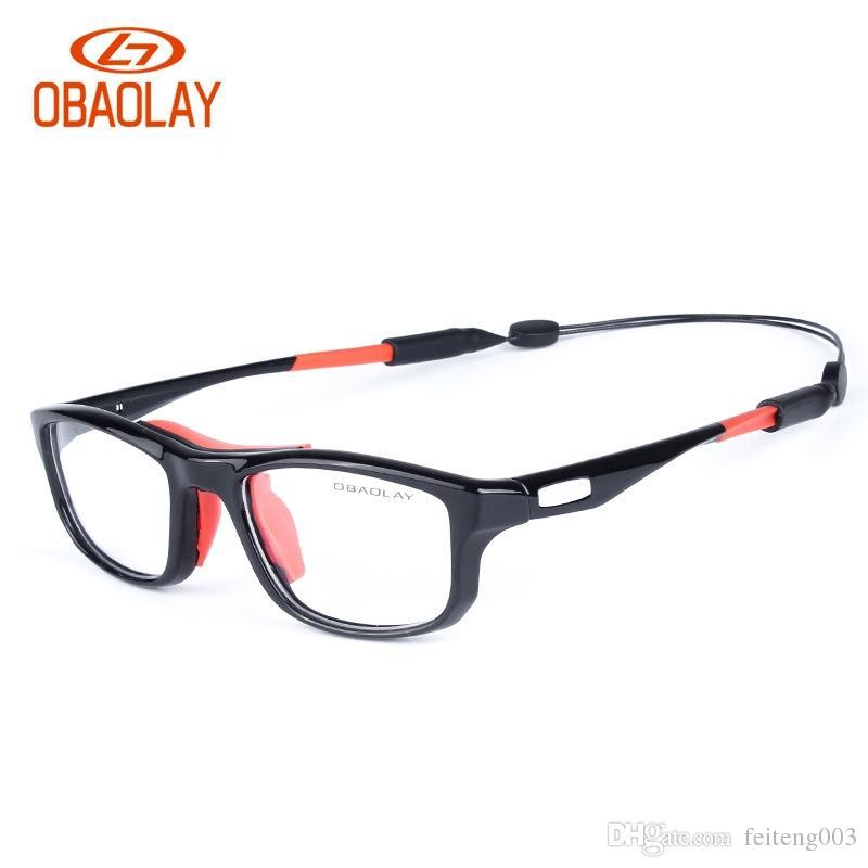 New Sport Glasses Women Men Basketball Prescription Glasses Frame Oversized  Black Square Driver Sport MTB Cycling z4 #123545