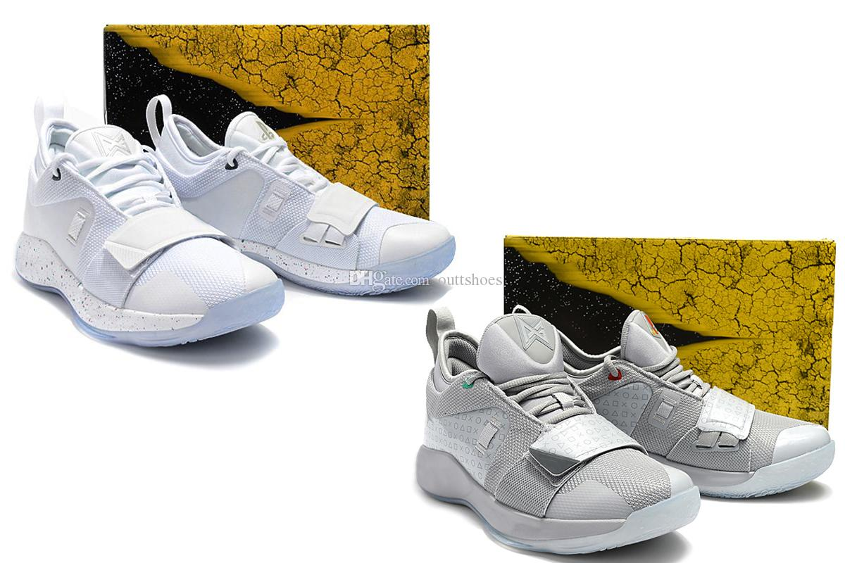 715fd3486eb With BoxMan Playstation X PG 2.5 Casual Shoes High Quality Paul George  White Grey Shoes Moccasins Boat Shoes From Outtshoes