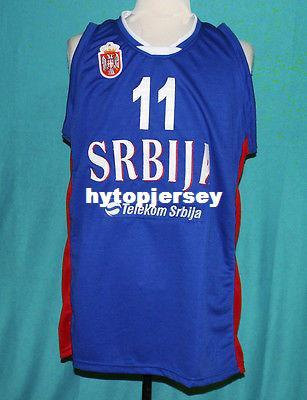 624912192 2019  11 VLADIMIR LUCIC TEAM SERBIA BASKETBALL JERSEY Retro Top Stitched  Embroidery Customize Any Name Number XS 6XL Vest Jerseys NCAA From  Hytopjersey