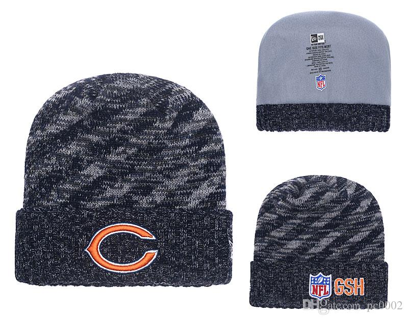 2019 Men S Chicago Bears Biggest Fan 2.0 Cuffed Knit Hat Navy Thanksgiving  Cuffed Pom Knit Hat From Pc0002 04af384d2fa