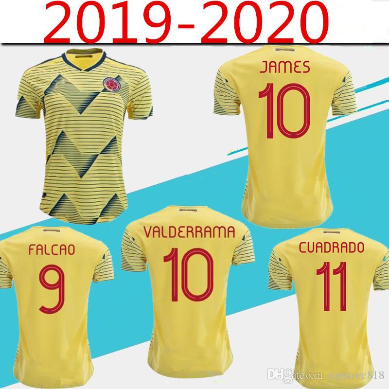adidas Kolumbien 2019 Heimtrikot Gelb Herren