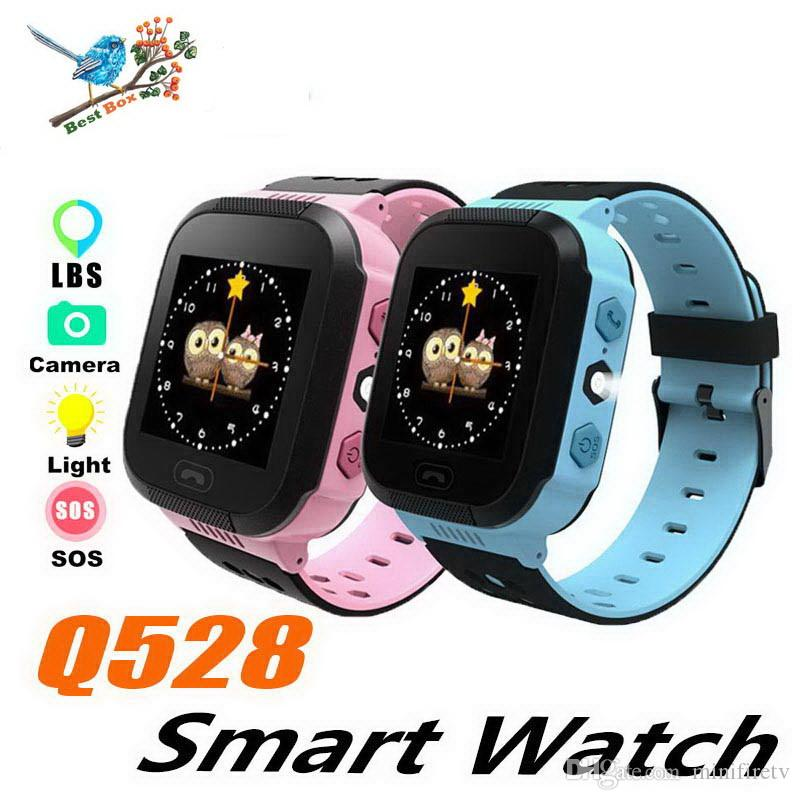 Q528 Smart Watch Children Wrist Watch Waterproof Baby With Remote Camera SIM Calls Gift Monitor SOS for Baby PK Q50 SmartWatch