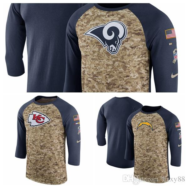 Los Angeles Rams Los Angeles Chargers Kansas City Chiefs Salute to ... 2e9c4c316