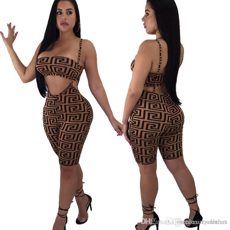 Women Summer Luxury Suits Short Tank Crop Top Shorts Clothing Sets