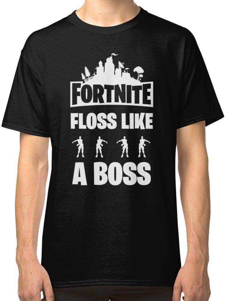 Bos Fornite Clothing Floss Like T A Men's Shirts Tees ED9H2IYW