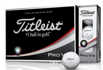 Free Shipping Top Quality New Golf Balls 12pcs/box Three Piece Ball V1 Golf  PRO V1 Balls Clubs