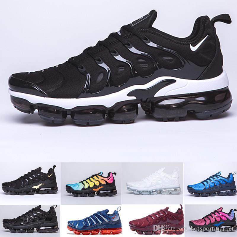 size 40 25239 9983e Acquista Nike Vapormax Air Max Airmax 2019 TN Plus Gioco Royal Orange USA  Tangerine Mint Uva Volt Scarpe Da Ginnastica Iper Violette Sports Sneaker  Uomo ...