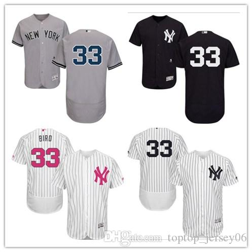 2019 2018 New York Yankees Jerseys  33 Greg Bird Jerseys  Men WOMEN YOUTH Men S Baseball Jersey Majestic Stitched Professional  Sportswear From ... a65981fe274