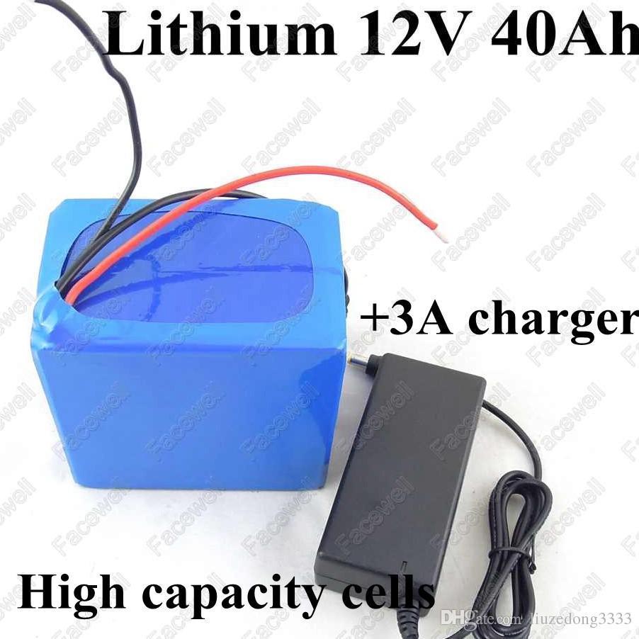 Lithium Battery Pack >> Gtk Lithium Battery 12v 40ah Li Ion Battery Pack With Bms For E Bike