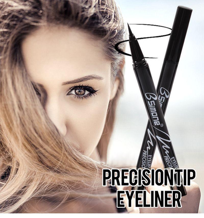Eyeliner Super Black Waterproof Liquid Eyeliner Pencil Eye Liner Pen Lady Cosmetics Make Up Eye Marker Beauty Essentials Eyeliner Contour