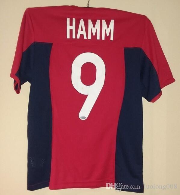 pretty nice 91459 ae7d6 Rare Vintage USA USWNT Mia Hamm Red Soccer Jerseys Embroidery Stitches  Customize any size and name Jersey