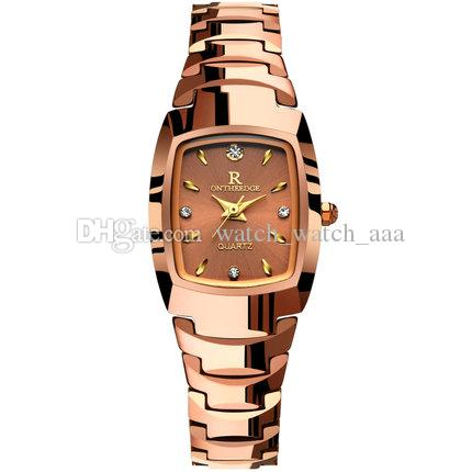 2019 High quality Fashion lady watches women luxury watch Classic rose gold/silver Stainless Steel Wristwatches female brand new lady clock
