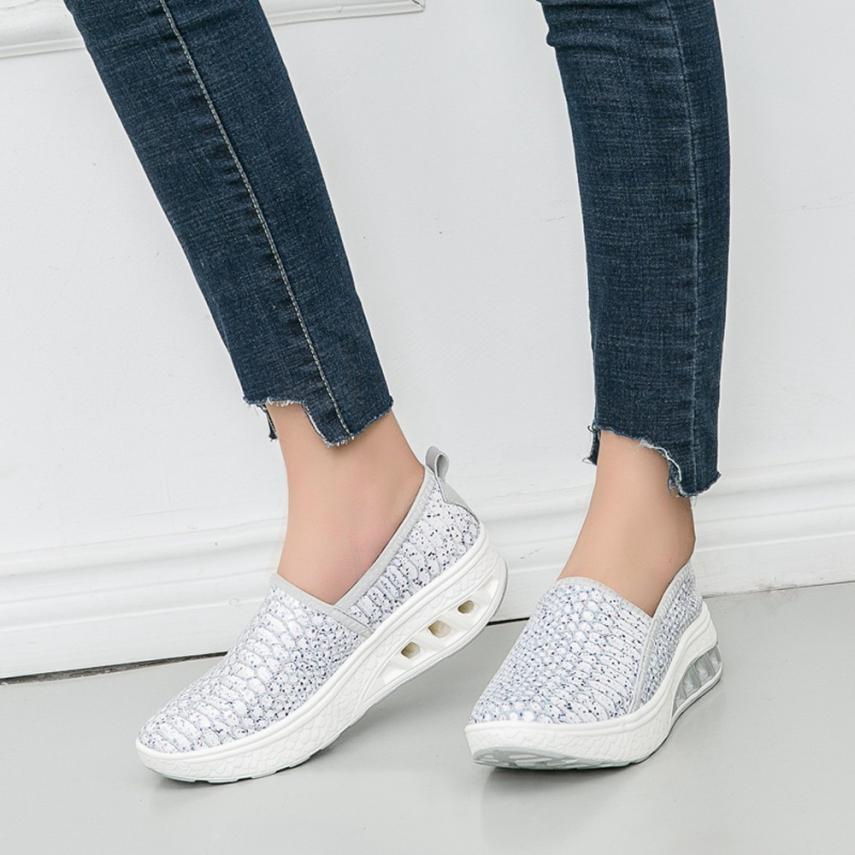 68d9898a3ae Compre Diseñador De Zapatos De Vestir Mujeres Nuevas Llegadas Moda Tenis  Feminino Ligero Transpirable Mujer Casual Mujer Zapatillas Regalo De  Entrega Rápida ...