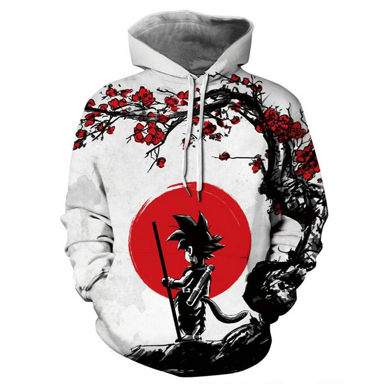Newest 3D Printing Z Hoodies Men Women Sweatshirts Hoody Cartoon Cosplay Son Goku Boy Girls Cool Polluver Hoodies