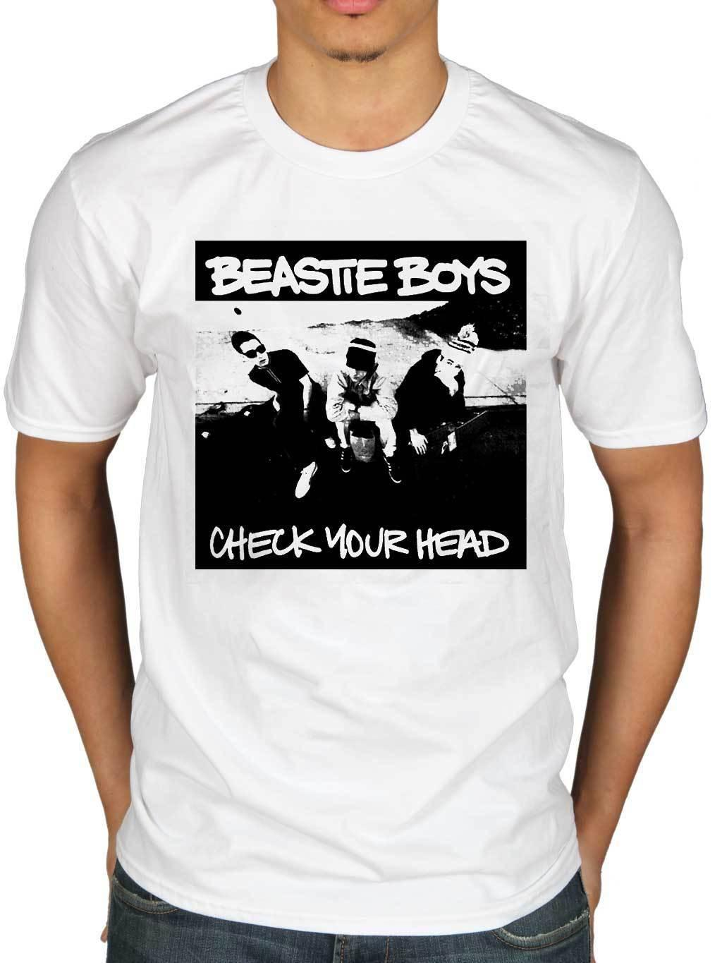 ef5c5a036 Official Beastie Boys Check Your Head Graphic T Shirt Hip Hop Beastie B Boy  Funny 100% Cotton T Shirt Style Round Style Tshirt 1 T Shirt T Shirt And  Shirt ...