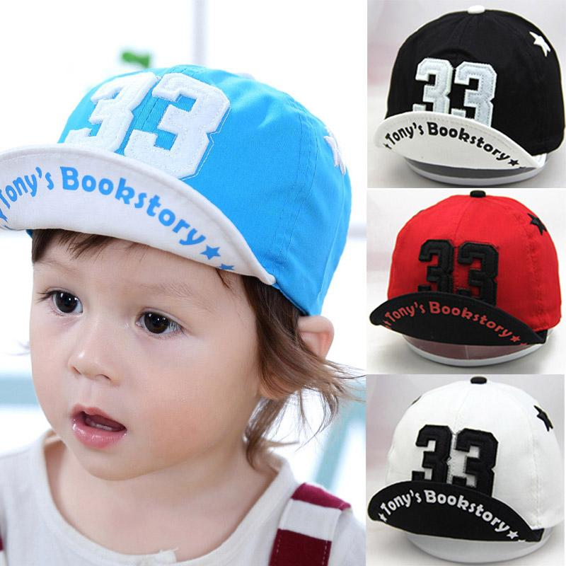 Spring Summer Baby Hat For Girls Boys Infant Toddler Adjustable Kids ... 47749510a