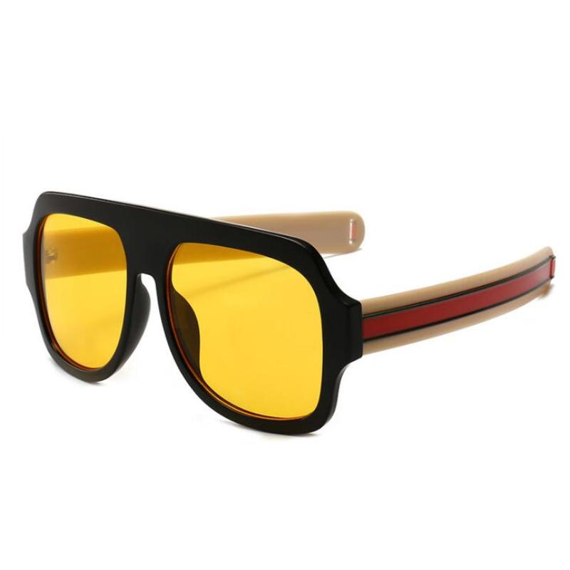 86f5b61bdb6d Rosscacx Retro Oversized Sunglasses Men Vintage Brand Designer Unisex  Plastic Sun Glasses Trendy Sunglass Eyewear Oculos De Sol John Lennon Sunglasses  Wiley ...