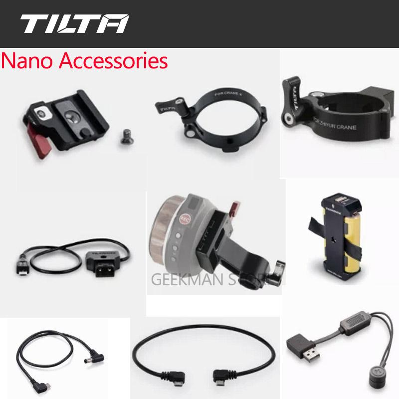 Tilta Nucleus-Nano Accessories DC Motor Power Cable Battery Pack Rod Adapter P-TAP Ronin-S Motor Power Cable Hand Wheel adapter