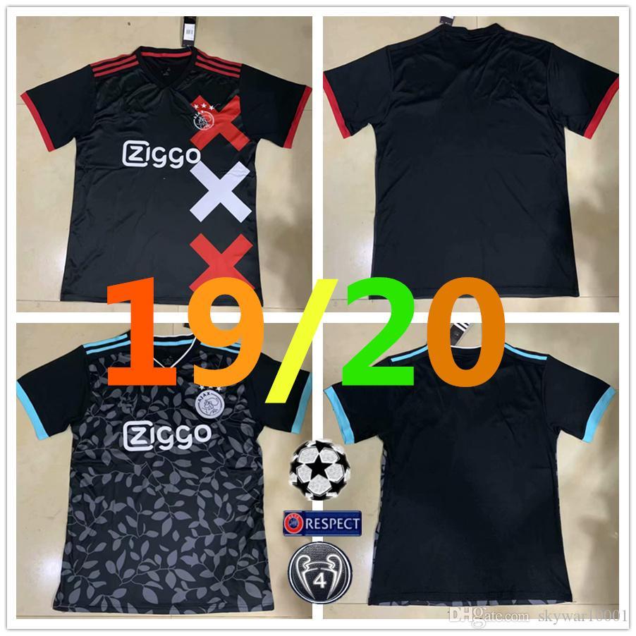 5bf7d8ccb 19 20 Ajax Home Soccer Jerseys Away Third Soccer Shirt 2019 2020 ...