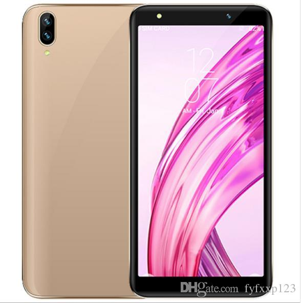 Goophone P20 Pro 5.5 Inch Smart Phone 1GB+4GB Show Fake 4GB RAM 128GB ROM Fake 4G Quad Core Android Cell Phone X95