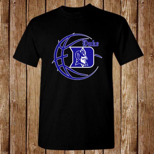 fce1b1b82ae8 The Duke Blue Devils Basketball Logo Balck T-Shirt Unisex Funny Tees ...
