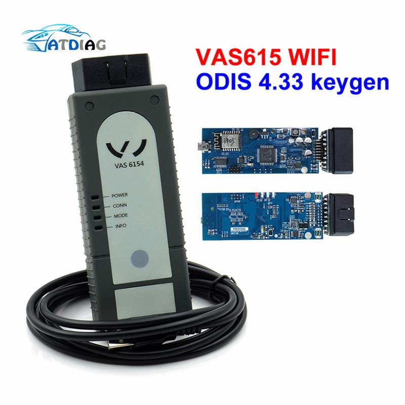 2017 Hottest Wifi Vas6154 4.13 Vag Diagnostic Tools Vas 6154 Odis V4.13 Function Better Than Vas5054a Oki Vas 5054a Diagnostic Tools