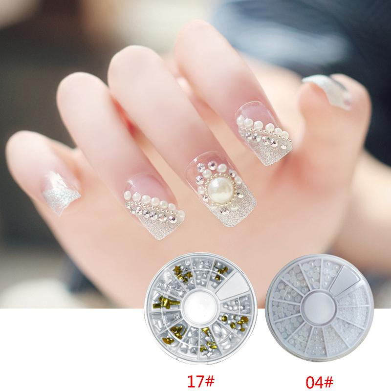 17 Style Mixed Color Nail Rhinestone Small Irregular Beads Manicure 3D Nail  Art Decoration In Wheel Accessories Gems On Nails Nails Decorations From  Roseeyy ... 84eecb1e2265