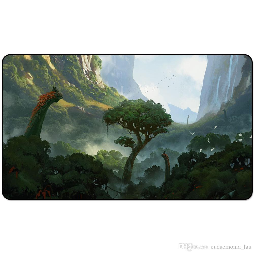 Magic Board Game Spielmatte: ITLIMOC, CRADLE OF THE SUN 60 * 35cm Tischset Mousepad SpielmatteCASCADING CATARACTS